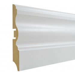 Grīdlīste MDF Smartprofile Paint 100l 100mm 2.40m