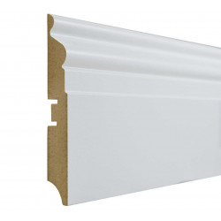 Grīdlīste MDF Smartprofile Paint 110f 110mm 2.40m