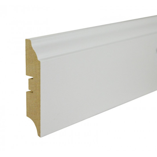 Grīdlīste MDF Smartprofile Paint sp82  80mm 2.40m