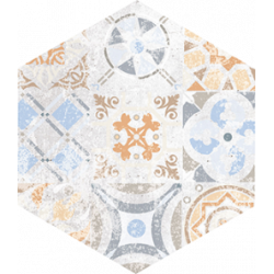 Flīzes FLAMENCO FLM12 28*33 standart natural patchwork HEXAGON