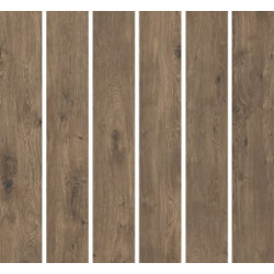 Flīzes WD Walnut WL07 19.7*119.3 rectified glazed natural  vai structura