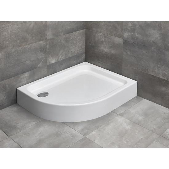 Dušas paliknis Radaway Laros E Compact 100x80