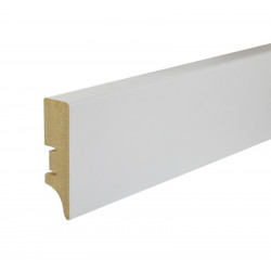 Grīdlīste MDF Smartprofile Paint SP60 60mm 2.40m