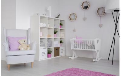 Grīdas segums bērnu istabā