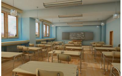 Kā izvēlēties grīdas segumu izmantošanai skolas telpās